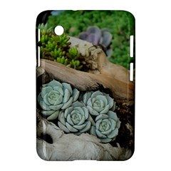 Plant Succulent Plants Flower Wood Samsung Galaxy Tab 2 (7 ) P3100 Hardshell Case