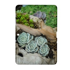 Plant Succulent Plants Flower Wood Samsung Galaxy Tab 2 (10.1 ) P5100 Hardshell Case