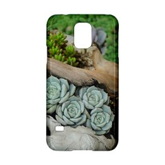 Plant Succulent Plants Flower Wood Samsung Galaxy S5 Hardshell Case