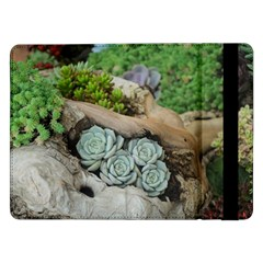 Plant Succulent Plants Flower Wood Samsung Galaxy Tab Pro 12.2  Flip Case