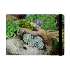 Plant Succulent Plants Flower Wood iPad Mini 2 Flip Cases