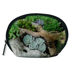 Plant Succulent Plants Flower Wood Accessory Pouches (Medium)