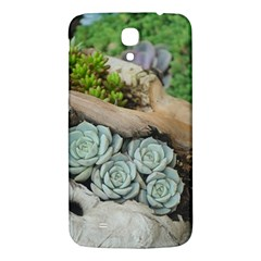Plant Succulent Plants Flower Wood Samsung Galaxy Mega I9200 Hardshell Back Case