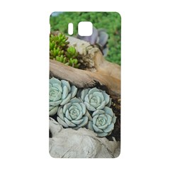 Plant Succulent Plants Flower Wood Samsung Galaxy Alpha Hardshell Back Case