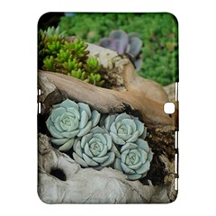 Plant Succulent Plants Flower Wood Samsung Galaxy Tab 4 (10.1 ) Hardshell Case