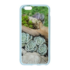 Plant Succulent Plants Flower Wood Apple Seamless iPhone 6/6S Case (Color)