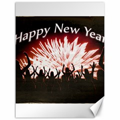 Happy New Year Design Canvas 12  x 16