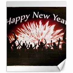 Happy New Year Design Canvas 20  x 24