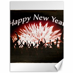 Happy New Year Design Canvas 36  x 48