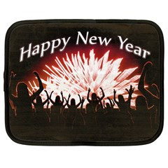 Happy New Year Design Netbook Case (Large)