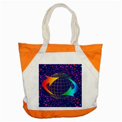 Recycling Arrows Circuit Accent Tote Bag