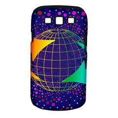 Recycling Arrows Circuit Samsung Galaxy S III Classic Hardshell Case (PC+Silicone)