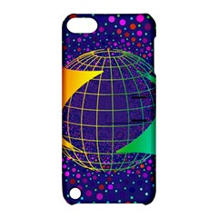 Recycling Arrows Circuit Apple iPod Touch 5 Hardshell Case with Stand