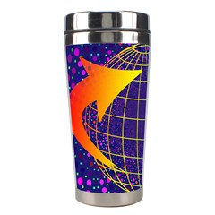 Recycling Arrows Circuit Stainless Steel Travel Tumblers