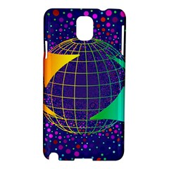 Recycling Arrows Circuit Samsung Galaxy Note 3 N9005 Hardshell Case