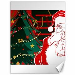 Santa Clause Xmas Canvas 36  x 48