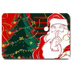 Santa Clause Xmas Large Doormat