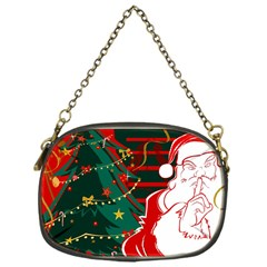 Santa Clause Xmas Chain Purses (One Side)