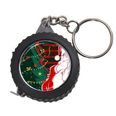 Santa Clause Xmas Measuring Tapes