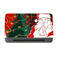 Santa Clause Xmas Memory Card Reader with CF