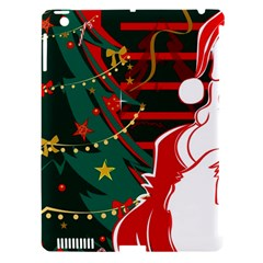 Santa Clause Xmas Apple iPad 3/4 Hardshell Case (Compatible with Smart Cover)