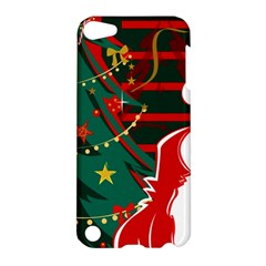 Santa Clause Xmas Apple iPod Touch 5 Hardshell Case