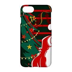 Santa Clause Xmas Apple iPhone 7 Hardshell Case