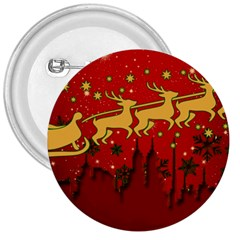 Santa Christmas Claus Winter 3  Buttons