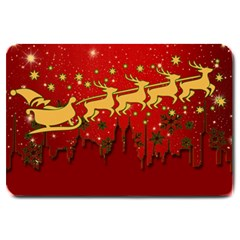 Santa Christmas Claus Winter Large Doormat