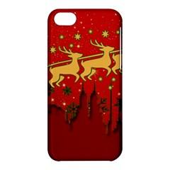 Santa Christmas Claus Winter Apple iPhone 5C Hardshell Case