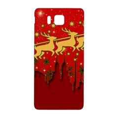 Santa Christmas Claus Winter Samsung Galaxy Alpha Hardshell Back Case