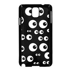 Seamless Eyes Tile Pattern Samsung Galaxy Note 3 Neo Hardshell Case (Black)
