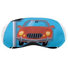 Semaphore Car Road City Traffic Sleeping Masks