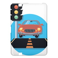 Semaphore Car Road City Traffic Kindle Fire HD 8.9