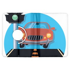 Semaphore Car Road City Traffic Kindle Fire HDX Flip 360 Case