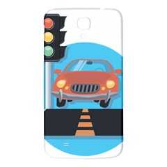 Semaphore Car Road City Traffic Samsung Galaxy Mega I9200 Hardshell Back Case