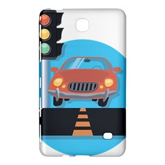 Semaphore Car Road City Traffic Samsung Galaxy Tab 4 (7 ) Hardshell Case