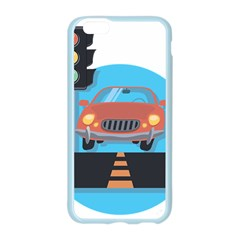 Semaphore Car Road City Traffic Apple Seamless iPhone 6/6S Case (Color)