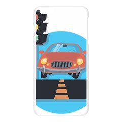 Semaphore Car Road City Traffic Apple Seamless iPhone 6 Plus/6S Plus Case (Transparent)