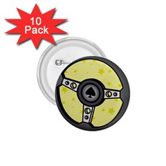 Steering Wheel 1.75  Buttons (10 pack)