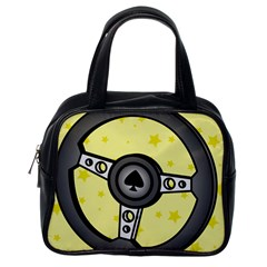 Steering Wheel Classic Handbags (One Side)