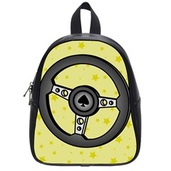 Steering Wheel School Bags (Small)
