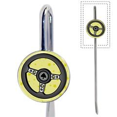 Steering Wheel Book Mark