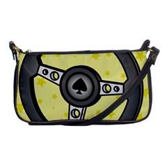 Steering Wheel Shoulder Clutch Bags