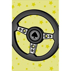 Steering Wheel 5.5  x 8.5  Notebooks