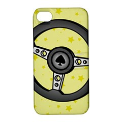 Steering Wheel Apple iPhone 4/4S Hardshell Case with Stand