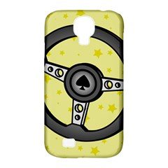 Steering Wheel Samsung Galaxy S4 Classic Hardshell Case (PC+Silicone)