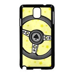 Steering Wheel Samsung Galaxy Note 3 Neo Hardshell Case (Black)
