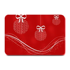 Simple Merry Christmas Plate Mats