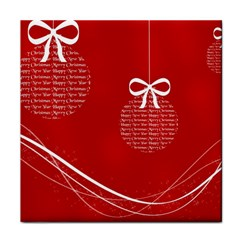 Simple Merry Christmas Face Towel